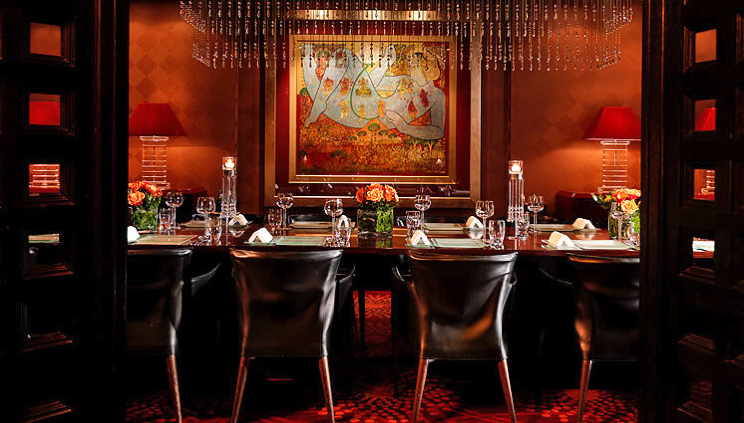 Amaya restaurant central london private dining rooms for Best private dining rooms central london