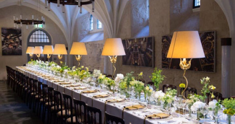 Westminster Abbey Cellarium Cafe banquet - MICE UK