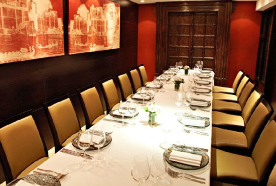 Benares restaurant central london private dining rooms for Best private dining rooms central london