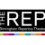 The REP logo - MICE UK