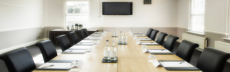 The Regency Hotel Solihull meeting room banner image - MICE UK