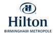 Hilton Birmingham Metropole logo - MICE UK